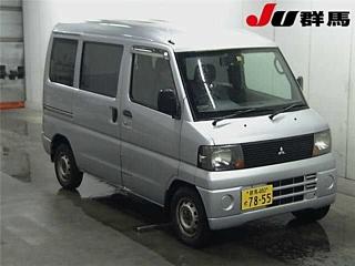 MITSUBISHI MINICAB 4WD van с аукциона в Японии
