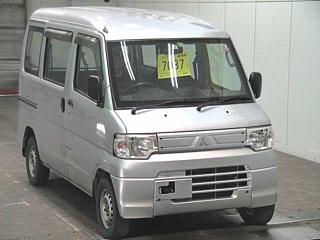 MITSUBISHI MINICAB 4WD CD HIGH ROOF van с аукциона в Японии